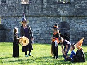Čarodějnice ve Vodním hradu v Budyni nad Ohří.
