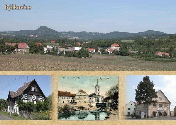 Pohlednice Býčkovic