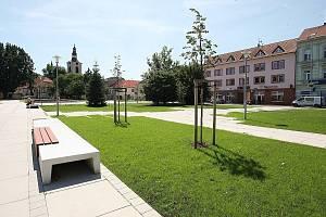 Václavské náměstí v Lovosicích.