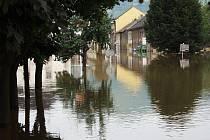 Povodeň 2002, 16. srpen - Lovosice