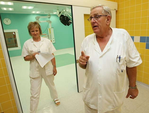 Roudnická nemocnice.