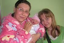 Aleně Kryštofkové a Vlastimilovi Walterovi z Lovosic se v litoměřické porodnici 27. dubna v 7.10 hodin narodila dcera Veronika Walterová. Měřila 49 cm a vážila 3,27 kg. Na snímku i se sestrou Pavlínou. Blahopřejeme!
