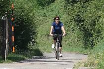 Cyklostezka na Litoměřicku, ilustrační foto.