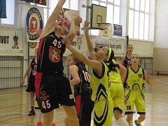 Basketbalistky Slovanu skončily na sedmé příčce.