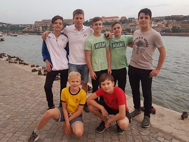 Výprava Sport Judo Litoměřice v Maďarsku.