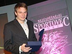 Vyhlášení ankety Nejúspěšnější sportovec roku v Litoměřicích. V posledních letech zde vítězí pouze házenkář Jiří Motl