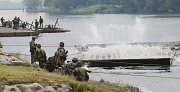 Po dvou letech opět proběhlo na vodním cvičišti v Litoměřicích vojenské mezinárodní cvičení ženistů Elbe 2017.