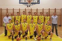 Basketbalisté prvoligového Slavoje Litoměřice.