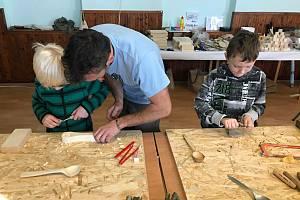 V Martiněvsi proběhly výtvarně-praktické workshopy