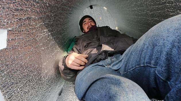 Iglú pro bezdomovce mají už i Litoměřice.