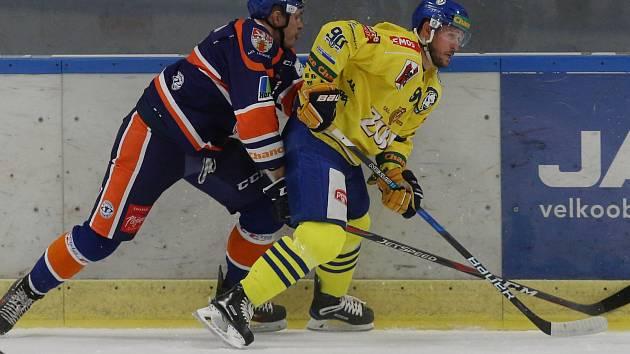 Hokejové utkání mezi Litoměřicemi a Přerovem