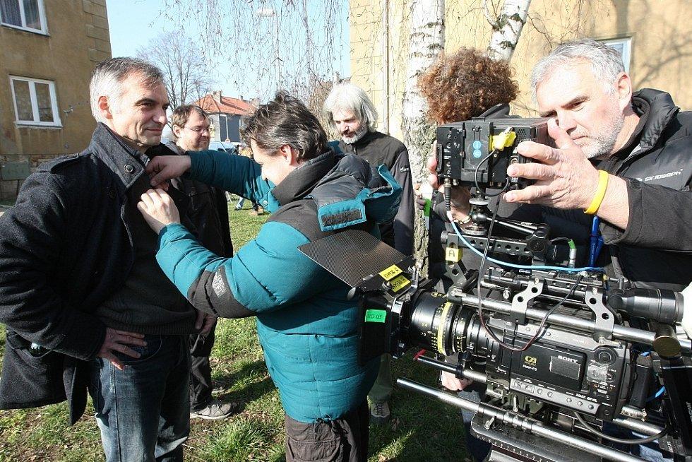 Natáčení v Lovosicích