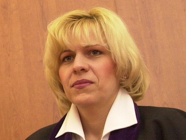 Předsedkyně Okresního soudu v Litoměřicích Václava Porubiaková.