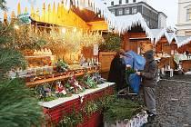 Vánoční trhy v Litoměřicích 2011.