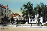Historické foto Litoměřic z roku 1903.