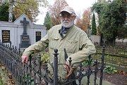 Vychází kniha o historii litoměřického městského hřbitova. Jejími autory jsou historik Oldřich Doskočil a správce hřbitova Pavel Lolo.