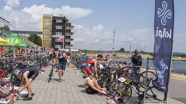 Triatlonové závody. Ilustrační foto.