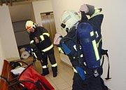 Fotoreportér Deníku Karel Pech si vyzkoušel polygon u hasičů v Litoměřicích