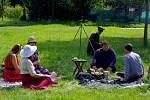 Retro piknik ve Štětí.