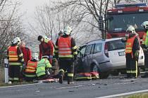 Páteční nehoda u Sulejovic