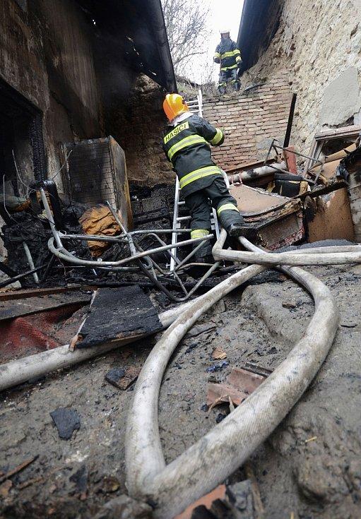 Požár v Libkovicích