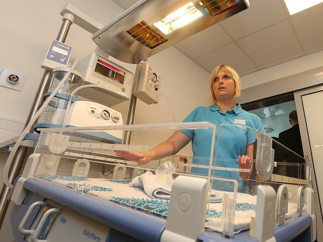 Podřipská nemocnice v Roudnici nad Labem, ilustrační foto.