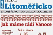 Týdeník Litoměřicko z 12. prosince 2018