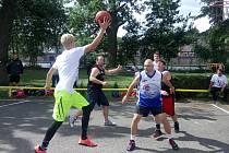 Streetbalový turnaj v Roudnici nad Labem.
