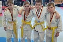 MLADÍ borci Sport Judo Litoměřice při turnaji v Německu nezklamali.