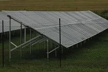 Fotovoltaická elektrárna - ilustrační foto.