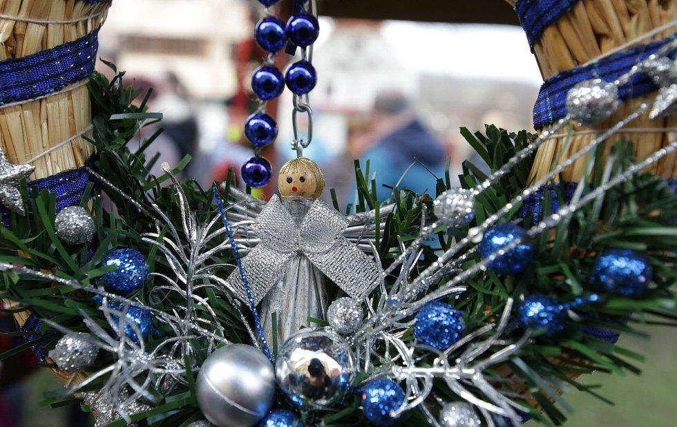 Vánoční jarmark v Třebenicích.