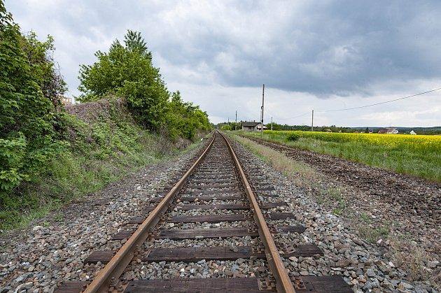 Ilustrační foto - železniční trať