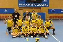 ŽENSKÝ tým ASK Lovosice – LFP byl úspěšný.