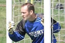 Milešovský gólman Bajer patřil k oporám týmu.