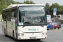 Autobusové nádraží v Litoměřicích.