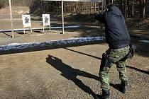 Střelnice ve Skalici u Litoměřic. Ilustrační foto