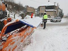 Dopravní nehoda v Žalhosticích, pondělí 27.1.2014
