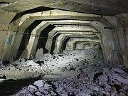 Podzemní továrna Richard u Litoměřic.
