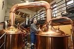 Nový pivovar již vaří první pivo