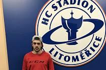 Hokejista Matěj Beran