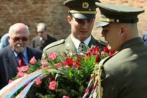 Pietní akt v Terezíně.