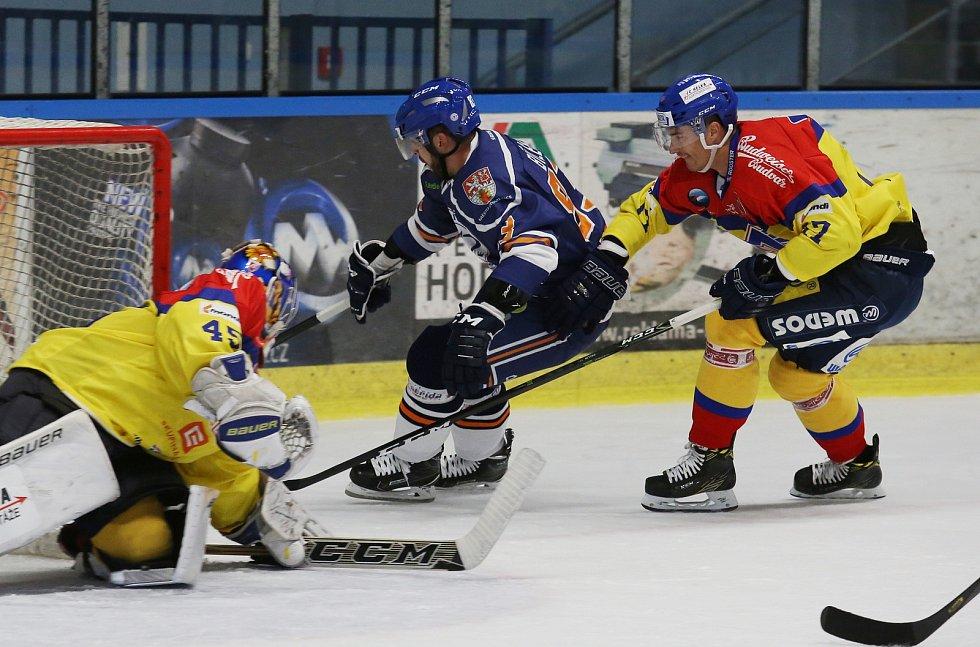 Hokejový zápas Litoměřice a České Budějovice
