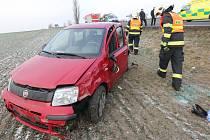 Nehoda u Horních Řepčic na Litoměřicku