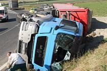 Nehoda kamionu u Lovosic.