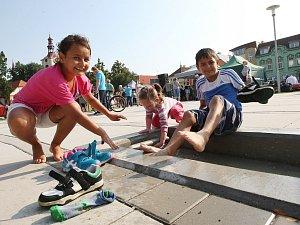 Z Václavského náměstí v Lovosicích mizí nepovedená kašna