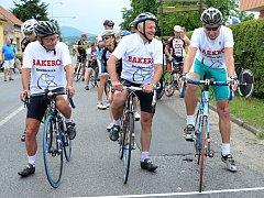 NA STARTU Gira se každoročně objevují závodníci všech věkových kategorií.