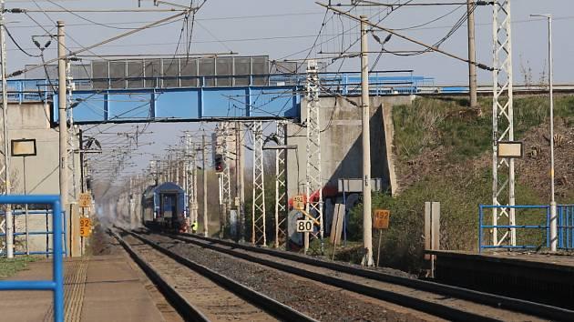 Tragická nehoda na železnici ve stanici Lukavec