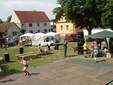 V krajském kole získala titul Vesnice roku 2007  obec Vědomice.