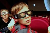 3D filmy přitáhly do chotěbořského kina více lidí, ilustrační foto