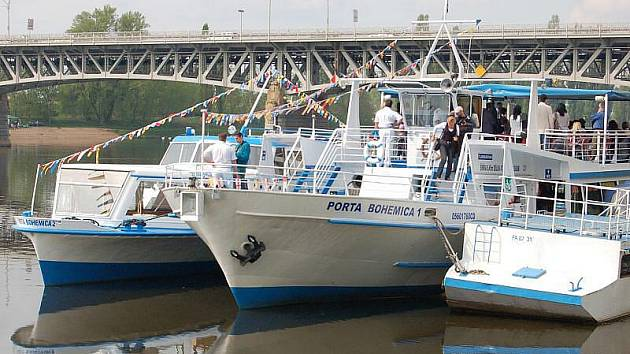"""Do provozu byla uvedena nová loď litoměřické flotily Porta Bohemica 2, menší sestra """"jedničky""""."""